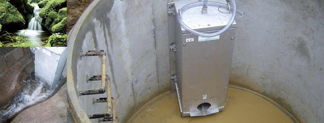 HydroSlide Abflussregler Typ Combo & FlatFlow