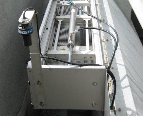 Feinstabrechen mit Ultraschallsensor