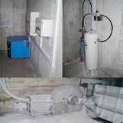 HydroGuard Flushing and Impounding Protection with pneumatic drive
