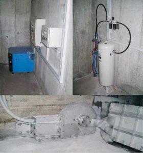 HydroGuard Kanalspüler mit Pneumatikantrieb
