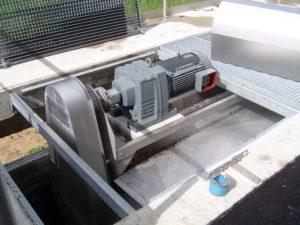 SEW-Elektromotor zum Betrieb eines HydroClean Bürstenrechens