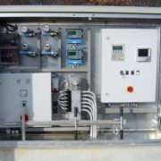 HydroSlide control with sensors, remote technology and data logger