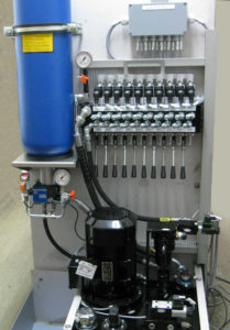 Hydraulikantrieb mit Handbedienung