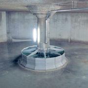 HydroSelf Behälterspülung unterirdisch
