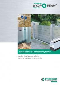 Flyer HydroBeam Dammbalken Titel