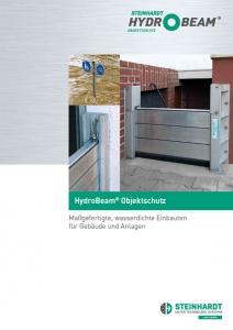 Flyer HydroBeam Objektschutz Titel