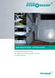 Flyer HydroGuard Spül-u.Stauschütz Titel