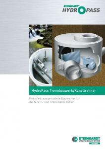 Flyer HydroPass Titel