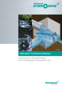 Flyer HydroSpin Titel