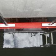 HydroBeam Kanalabsicherung-verspannt von oben verspannt