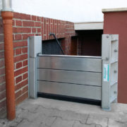 HydroBeam securing a cellar access