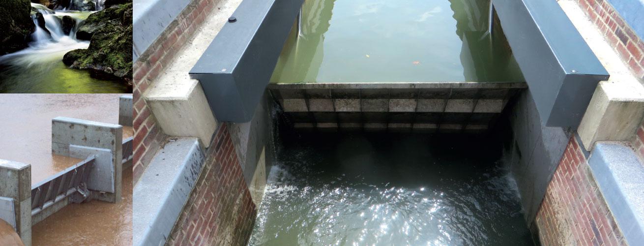HydroBend Weir Gates