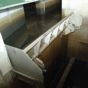 HydroBend weir gates in canal, closed