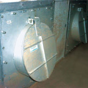 HydroLatch circular flood gates