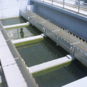 HydroM.E.S.I. Particle Separator type STATIC with honeycomb structure – only to be seen at drained water level