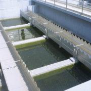 HydroMESI STATIC Wabenstruktur (hier sichtbar bei abgelassenem Wasser)