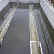 HydroMESI STATIC is installed in a compact concrete or plastic structure