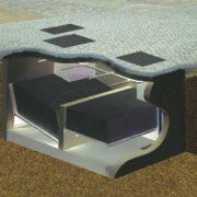 HydroSeparator Einbau in einer Fußgängerzone
