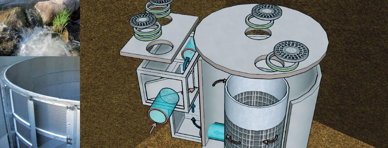 HydroTwister Dynamic Vortex Separator