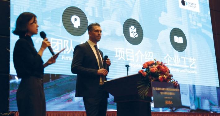 Ingo Mayer auf Schwammstadt-Forum in Südchina