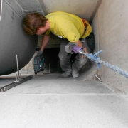 Repairs or extensions on existing equipment frequently require specialised knowhow and skills.