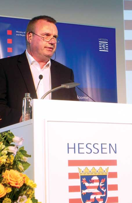 Jörg Steinhardt in Brüssel