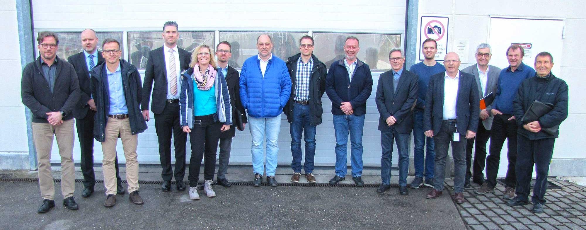 Teilnehmer des Steinhardt VDI-Unternehmerforums