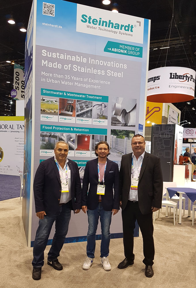 ABIONIK at WEFTEC 2019