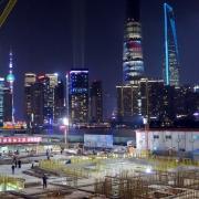 Baustelle Shanghai